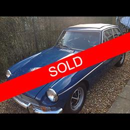 MGB GT Sold