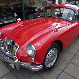 MGA Coupe 1622 MKII for Sale